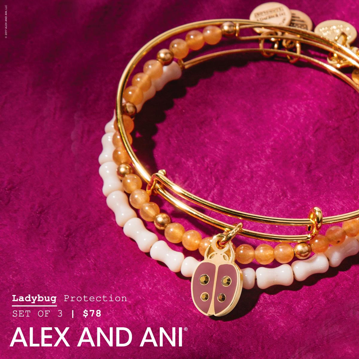 alex and ani spring ladybug