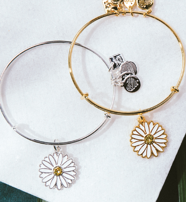 alex and ani spring daisy