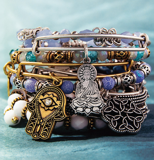 alex and ani spring stack