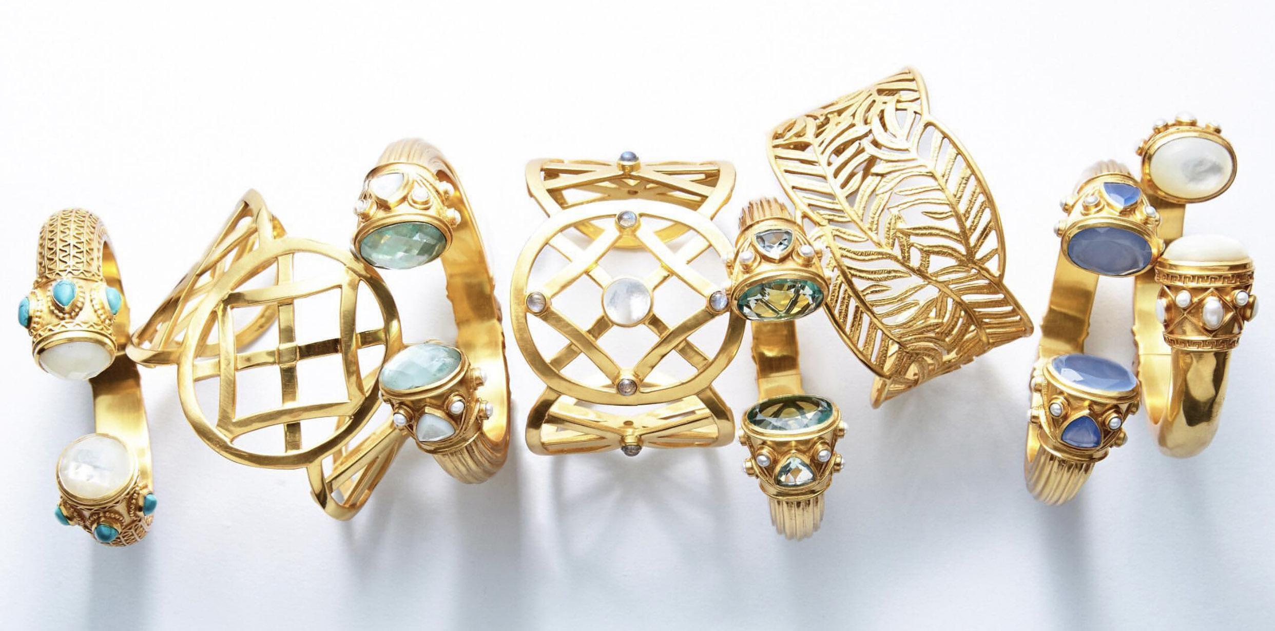 julie vos statement bracelets