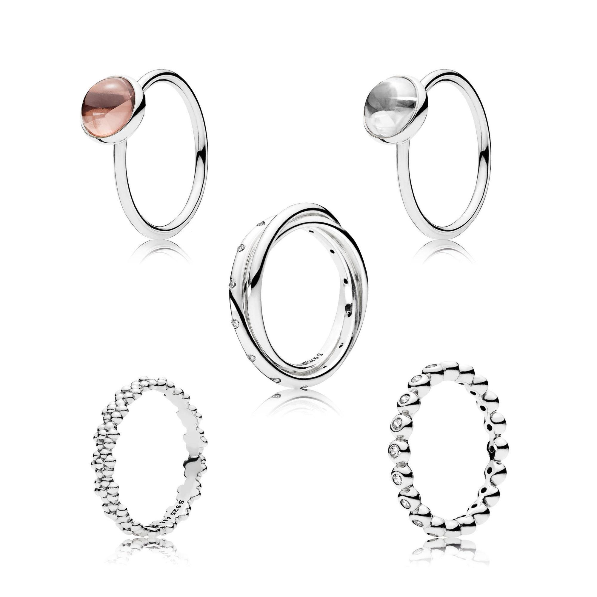 pandora spring rings