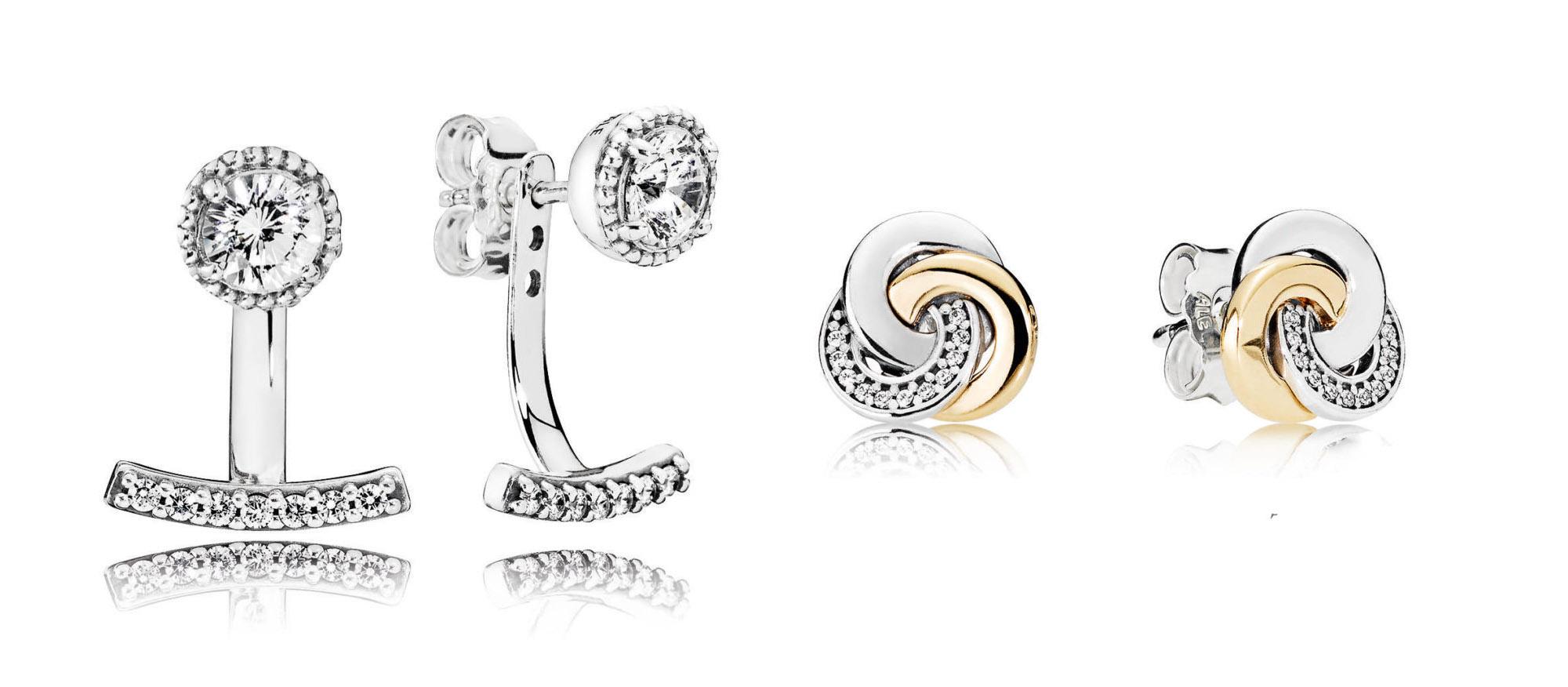 pandora spring earrings