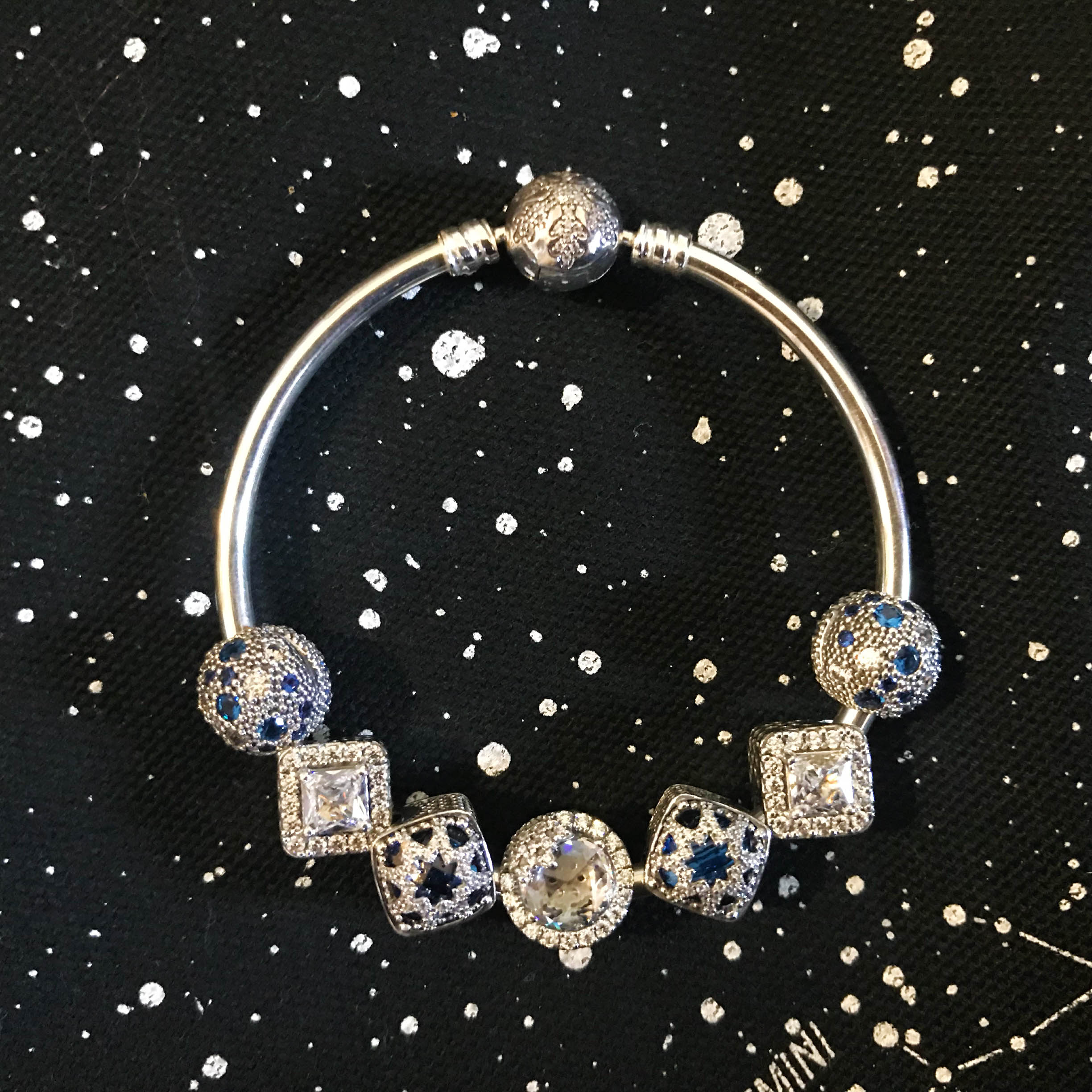 pandora holiday the glacial beauty charm 90 is another gorgeous addition its diamond shape works well with some of the geometric charms released in