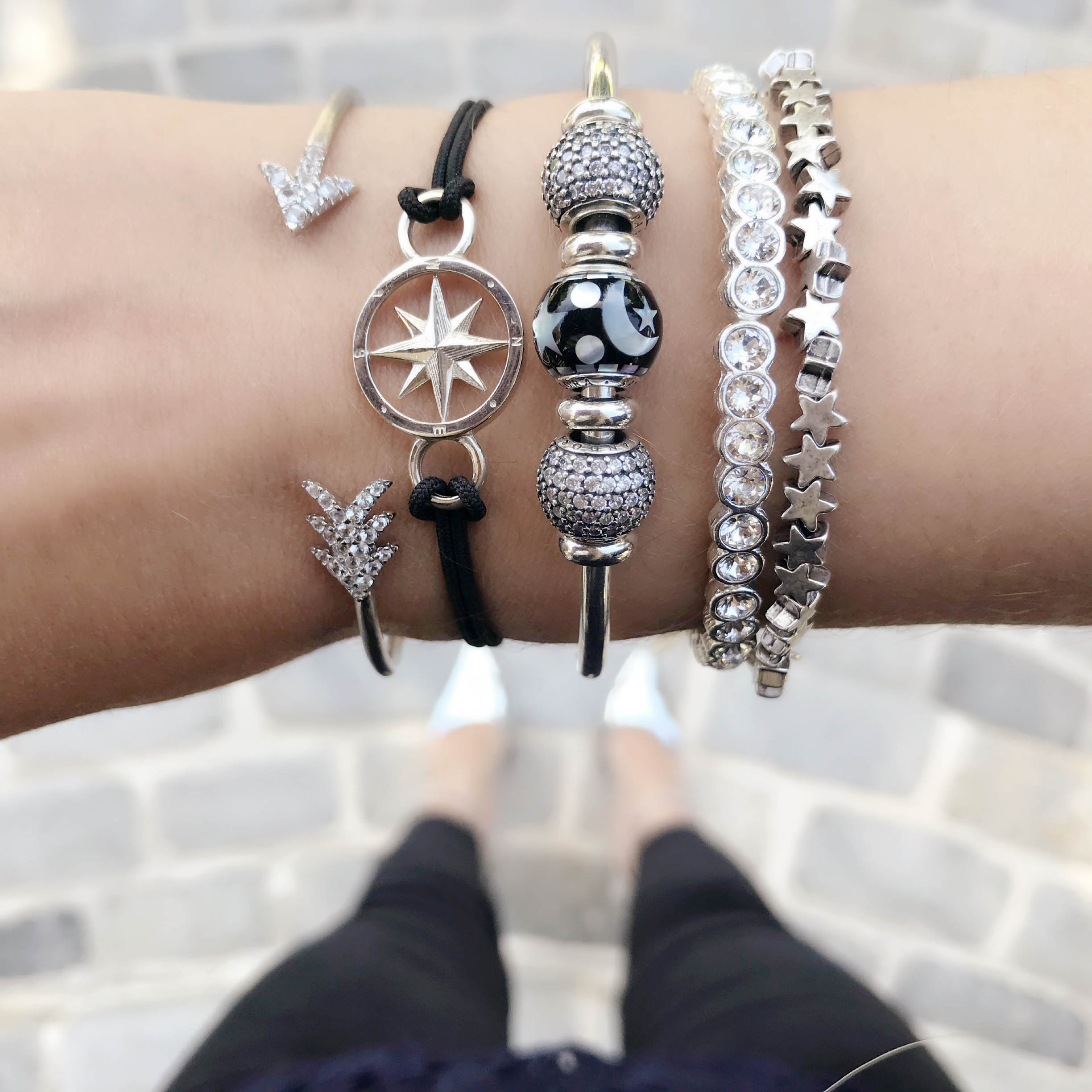 f3bfd055a One of our absolute favorite charms of the new collection is the Celestial  Mosaic charm ($65). Made with mother-of-pearl, the moon and stars have a ...