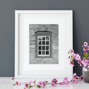 Brethren's House Window Framed