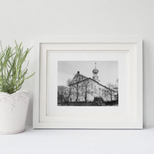 Central Moravian Church Framed