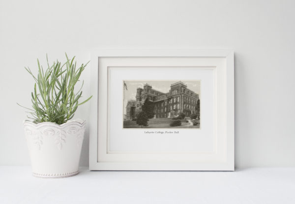 Pardee Hall Framed