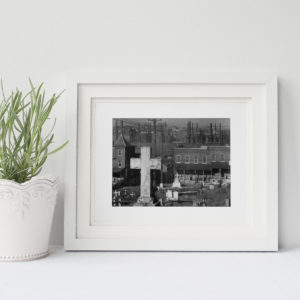 View of Bethlehem Steel Framed