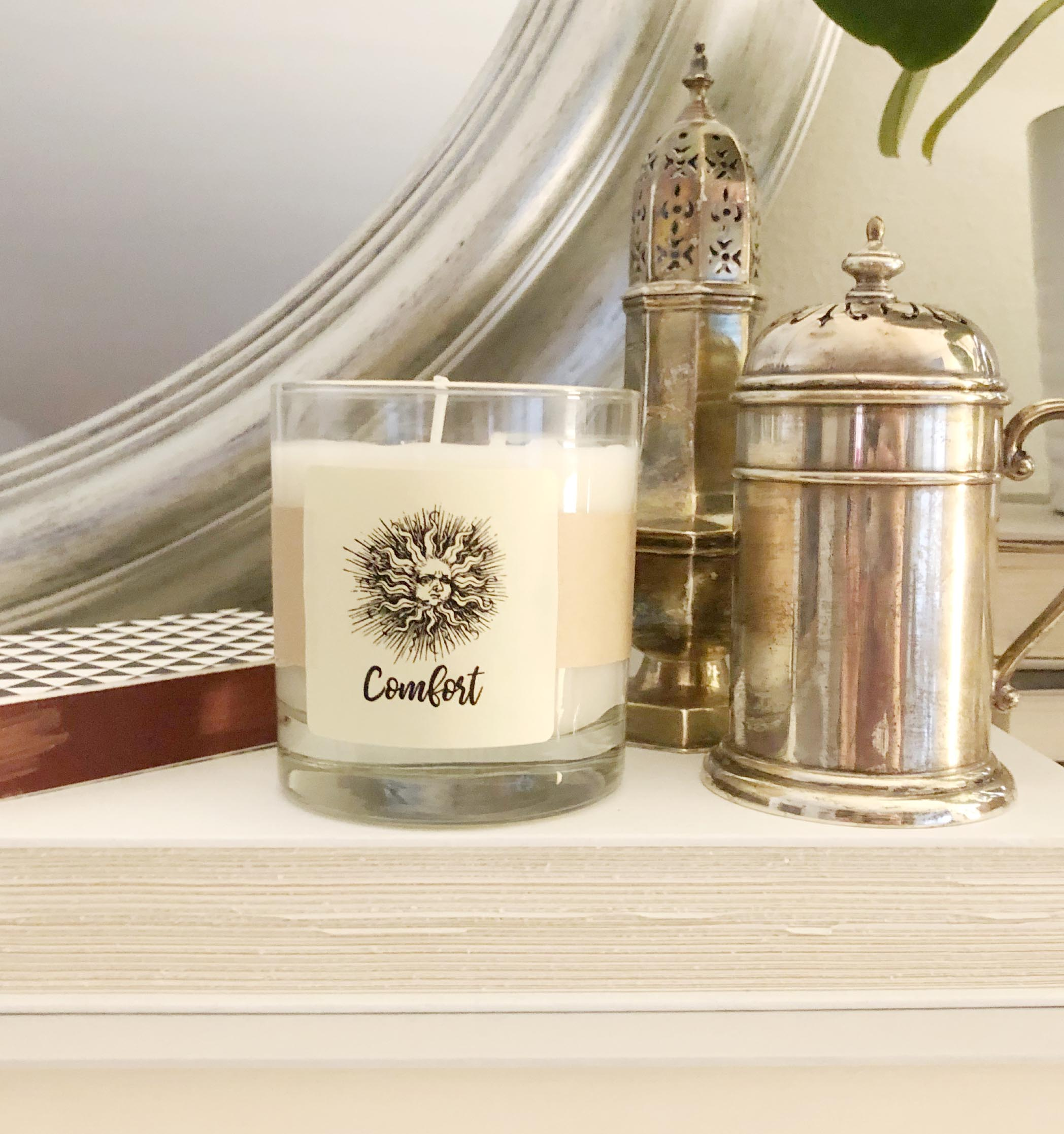 amber shehewefirefly candle co oak collections classic comfort southern glass collection comforter firefly candles