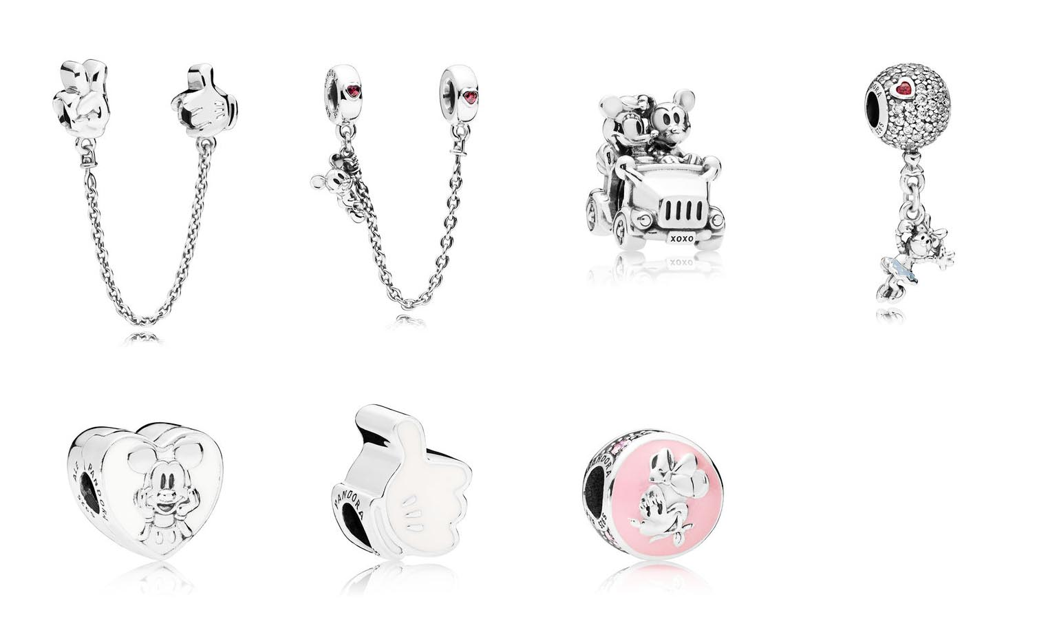 c3843f144 Other new additions include two new safety chains, a Floating Minnie  Dangle, a new Vintage Mickey clip with white enamel, Mickey's glove, and a  Vintage ...