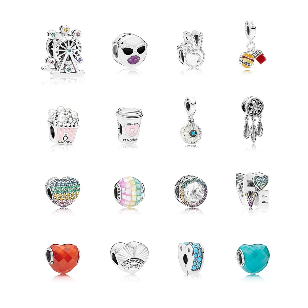 1e2f9285d In addition to the rainbow mosaic, there is a new rainbow heart clip,  Radiant Hearts of Pandora charm with rainbow halo, and Love charm with  rainbow ...
