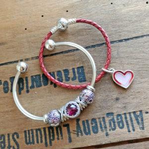 asymmetric hearts pandora valentine's day