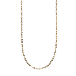 Waxing Poetic Retired Gold Plated Baby Ball Chain