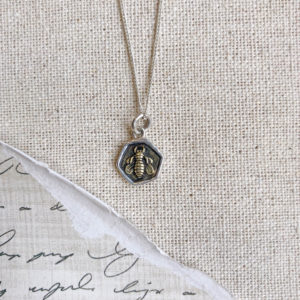 Waxing Poetic Retired Honey Love Tiny necklace