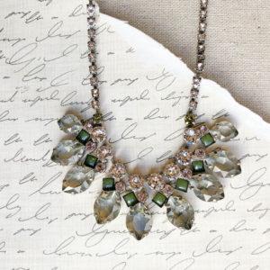 sorrelli precious petals statement necklace