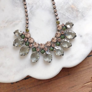 sorrelli precious petals statement necklace