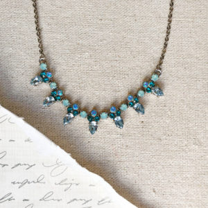 sorrelli twinkling thistle necklace