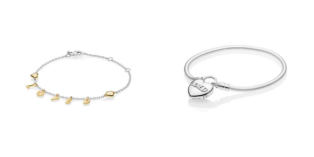 bracelets pandora valentine's day 2019