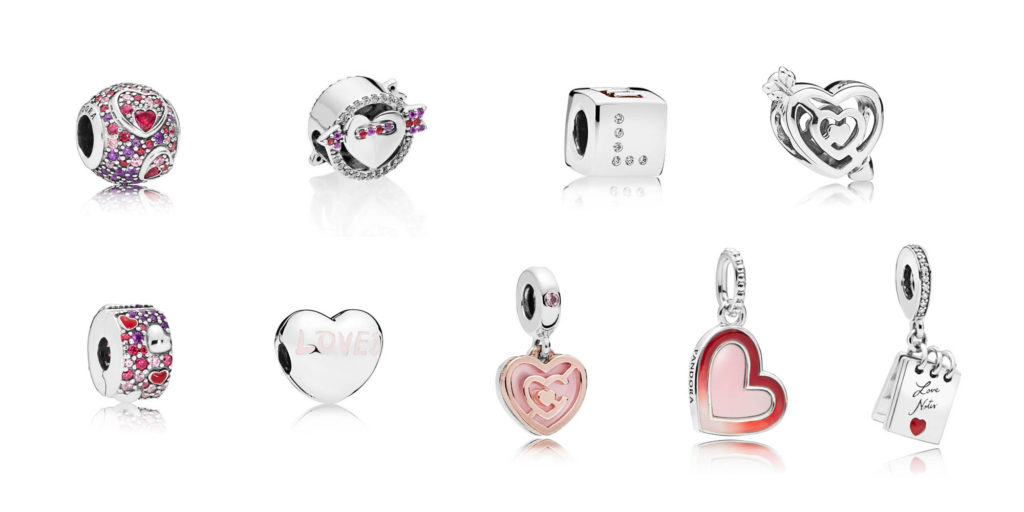 charms pandora valentine's day 2019