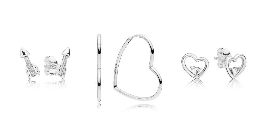 earrings pandora valentine's day 2019