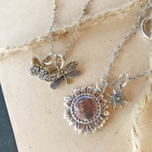 Nature-Inspired Retiring Waxing Poetic Charms