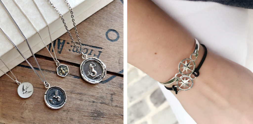 talismans and compass rose- valentine's day gift guide
