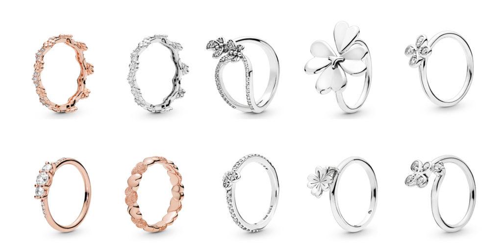 f15018f31 Pandora Rose Flower Crown ($100), Silver Flower Crown ($75), Bedazzling  Butterflies ($75), Moving Clover ($75), Four Petal Flower ($55), Pandora  Rose ...