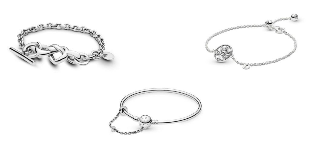 389e67471 Knotted Heart bracelet ($115), Limited Edition True Uniqueness Bangle  ($90), and Tree of Life Adjustable Bracelet ($60)