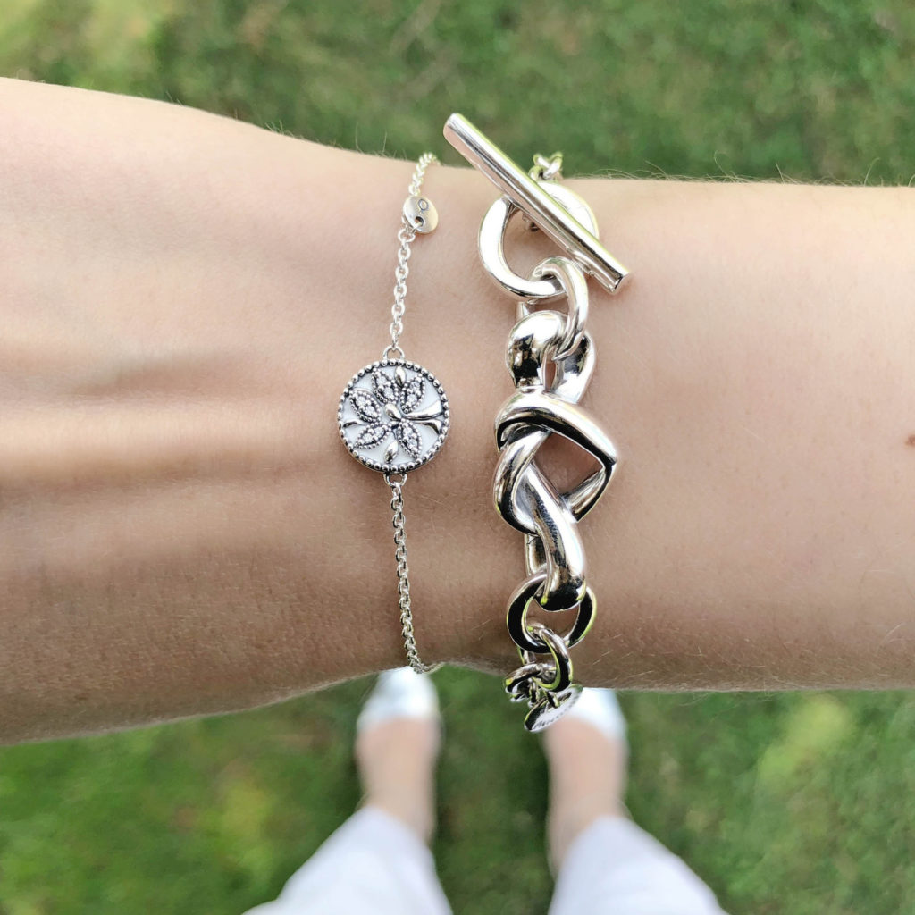 a6dcaf63c Tree of Life ($60) and Knotted Heart ($115) bracelets. The Pandora ...